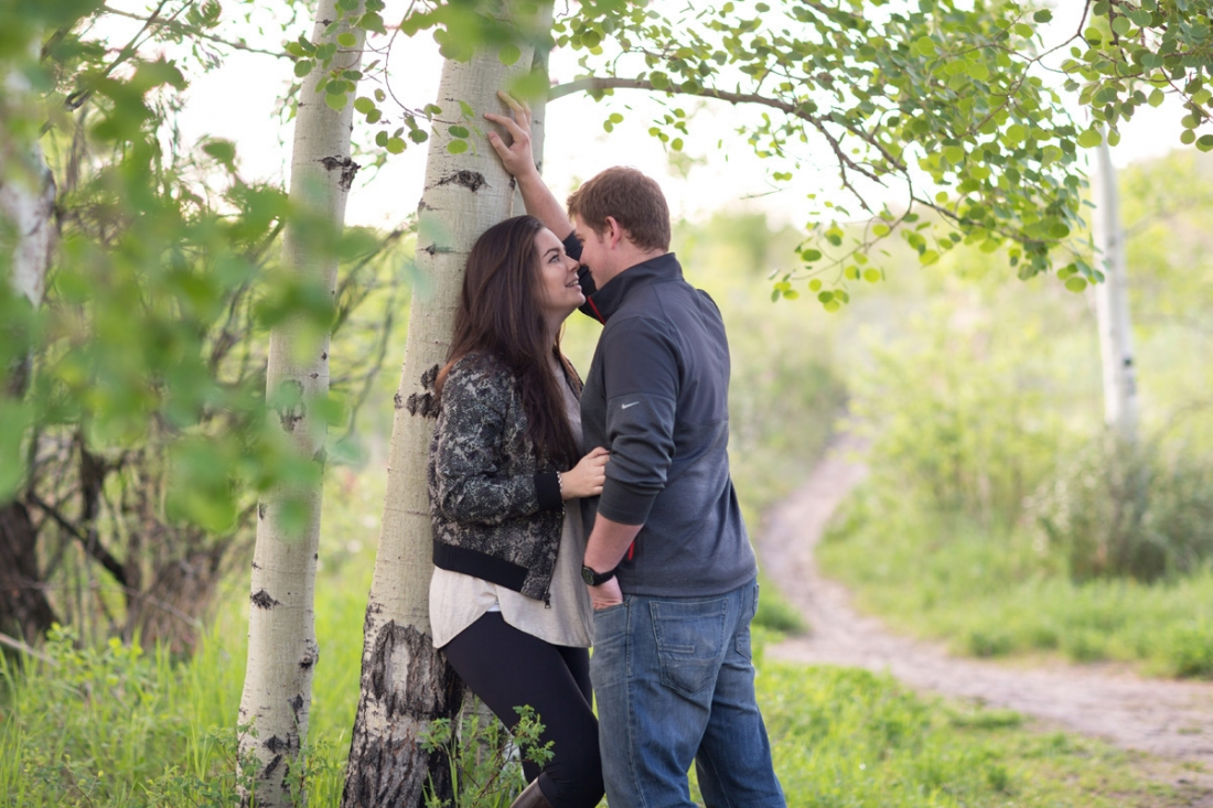 Romantic Relationship photography in Calgary