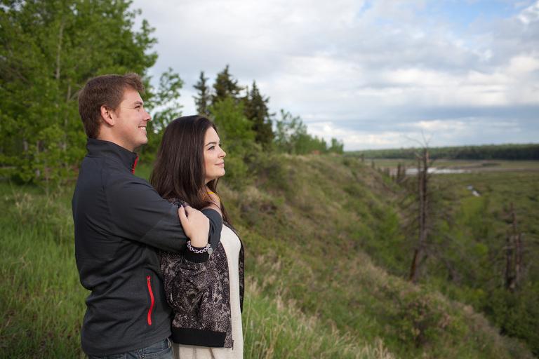 Romantic Relatonship photography in Calgary by Matthew Hicks, Wedding Photographer