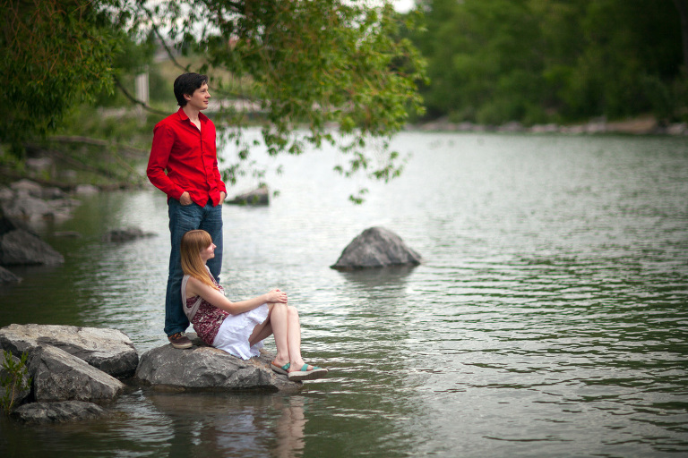 Prince's Island engagement photos by Matthew Hicks, Calgary Wedding Photographer