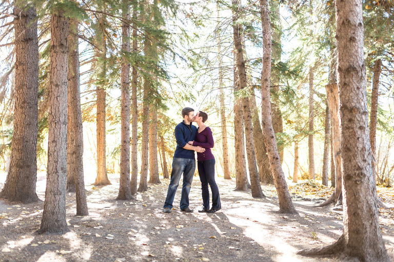 Heather and Alex - Calgary Engagement Photography